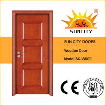 Porta interior do quarto de madeira da China