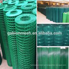Malha de arame soldada galvanizada / revestida de PVC barata para venda (fábrica direta em Anping)
