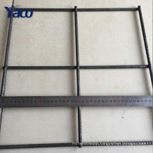 Low price 3mm 4mm 5mm 6mm wire black welded wire fence mesh panel