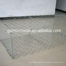Gabion mesh / gabion caixas de pedra / pedras para gabion preços