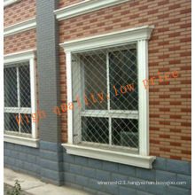 Galvanized Beautiful Grid Wire Mesh Fence (HQ IS THE SECOND BRAND OF HEBEI FACTORY IN GUANGZHOU)