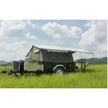 DW-CT001 Remorque pliante médicale de campeur avec des tentes rv pour la vente comping trailer
