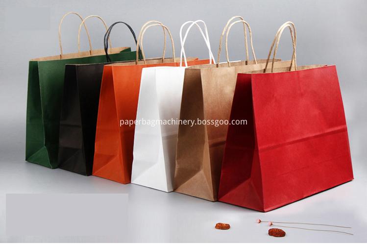 Full auto paper bag machine1