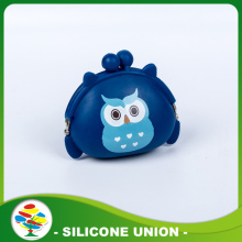 Silicone Dark Blue Coin Purse Non-toxic Coin Wall