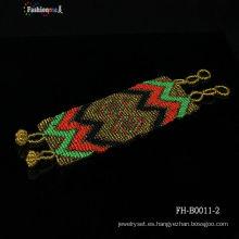 exquisitas habilidades de artesanía wrap pulsera