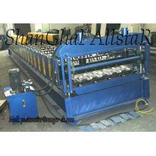 Rollo de material para techos de IBR formando la máquina / máquina perfiladora de lámina para la venta de material para techos