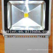 Лучшая цена наружного здания ip66 100-240v 220v 100w светодиодный прожектор