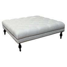 Большой Белый пуфик для мебели гостиницы