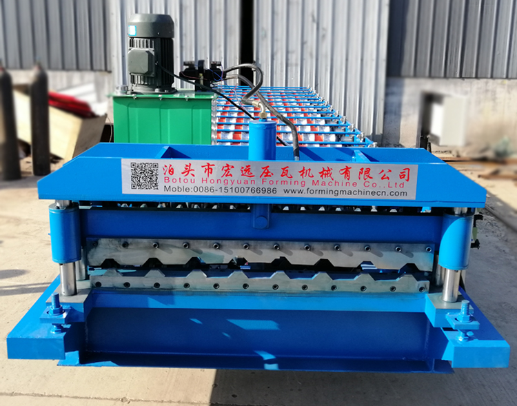 roof wall panel forming machine