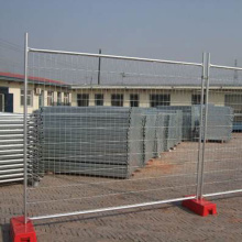 Galvanized Metal Steel Construction Temporary Fence