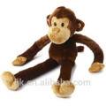 ICTI factory custom long arms and legs monkey plush toy