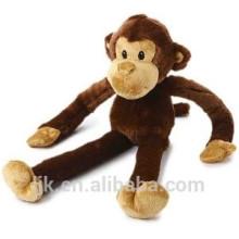ICTI fábrica de costumbre brazos largos y las piernas de mono juguete de peluche