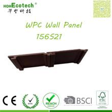 Los paneles elegantes de WPC de la decoración al aire libre de la decoración al aire libre del precio bajo apartadero de la pared del precio bajo
