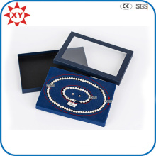 Fashion Custom Transparent Pearl Necklace Box