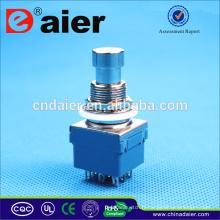 Daier 3pdt interrupteur à pédale / interrupteur à pédale électrique / interrupteur à pédale