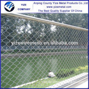 Factory price Chain link mesh/Diamond wire mesh/portable chain link fence