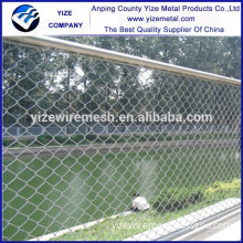 China supplier garden chain link fence for decoration/1 inch chain link wire mesh fence