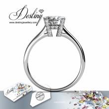 Destino joyería cristal de Swarovski anillo de ella