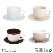 8oz Tea Set Seesame Glaze Design