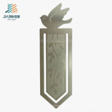 Promotion Gift Stamping Engrave Custom Bookmark in Metal Silver