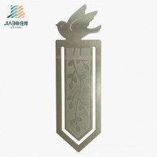 O carimbo do presente da promoção grava o marcador feito sob encomenda na prata do metal