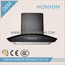 Malaysia/India Model Wall Mounted Range Hood/Automatic Baffle Filter