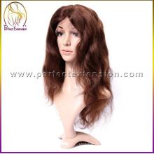 высокий спрос ехпортировать продукты необработанные Девы человеческих парики с челкой Ракель Уэлч парики