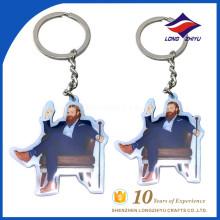 Porte-clés gros homme drôle grosse porte-clés de barbe