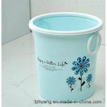 Película de impressão da transferência térmica para o escaninho de lixo do teste padrão de flor
