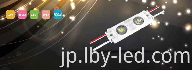 Aluminum led module 1W 160 degree