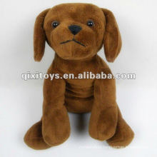 cute small stuffed and plush dog toy