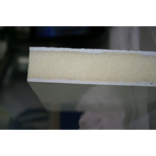 Panel de sándwich de poliuretano de aislamiento térmico