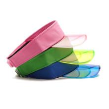 Gorra de visera de plástico de neopreno para sol