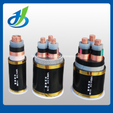 6KV 3 Kern XLPE / PVC isolierte unterirdische Stromkabel