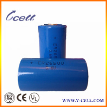 8500mAh 3.3mA C Size Lithium Er26500 Battery with High Energy