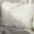 Bulu Domba Putih Fur Pillow Double Sided Fur