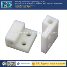 Customized high precision cnc milling nylon blocks for auto parts