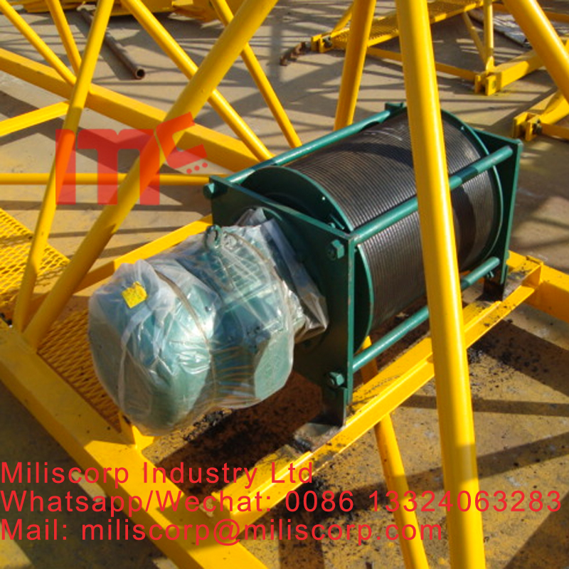 trolley motor for tower crane