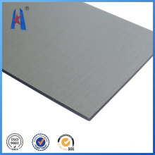 Chapa de plástico compuesto de aluminio plateado ACP