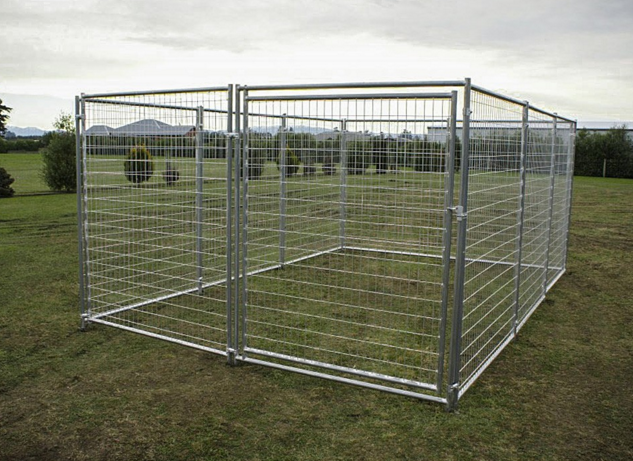 Durable Heavy Duty Galvanized Dog Kennel