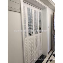 Plantation Verschluss Komponenten pvc Stange Rollläden pvc für Fenster blind pvc