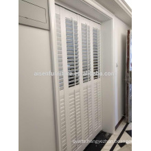 Plantation shutter components pvc rod shutters pvc for window blind pvc