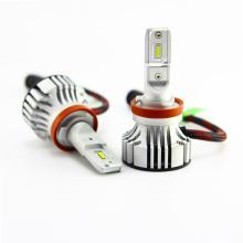 El tipo de la lámpara del LED y las piezas de automóvil al por mayor del voltaje 12V 6000LM llevaron la linterna H7 H11 9005 9006 del coche