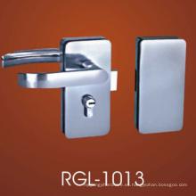 Cerraduras de puerta de cristal del material de la aleación del cinc de la calidad para la cerradura de puerta de cristal deslizante doble