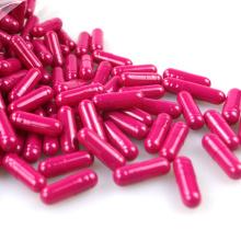 Cápsula de píldora vacía de gelatina farmacéutica