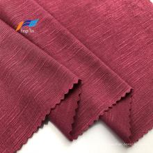 Commerce de gros T / R Tissus tricotés en jersey de polyester de bambou