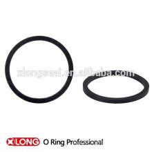 Nouveaux types de design anneau en caoutchouc noir rond