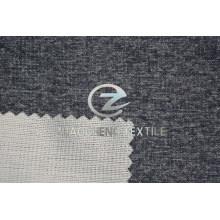Tejido de punto consolidado de terciopelo de lana falso de dos tonos para uso en ropa, pantalones y sofá