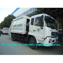2016 Euro IV Novo compactadores de lixo compactadores de lixo, 10-12cbm compactadores de lixo de compressão à venda