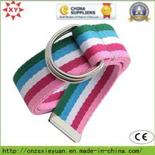 Plain Nylon Belt Buckle with Metal Clasp